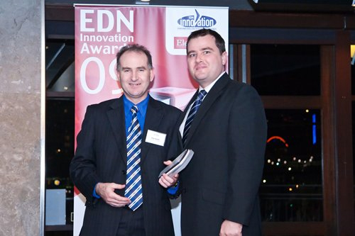 Ray Keefe receives the EDN Innovation Award for Best Application of Analogue Design