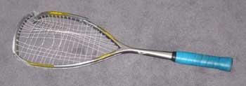 Broken Squash Racquet