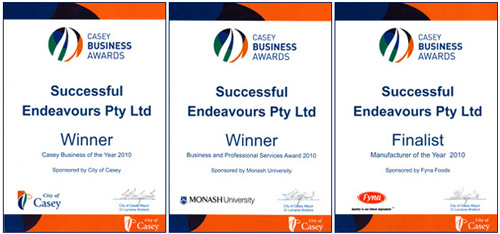 Successful Endeavours Casey Business Awards 2010