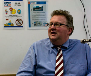 David Wilkinson on 3SER