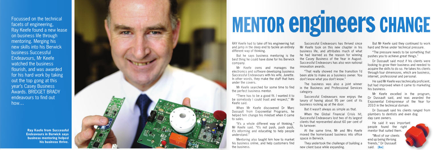 MENTOR engineers CHANGE - a business success story