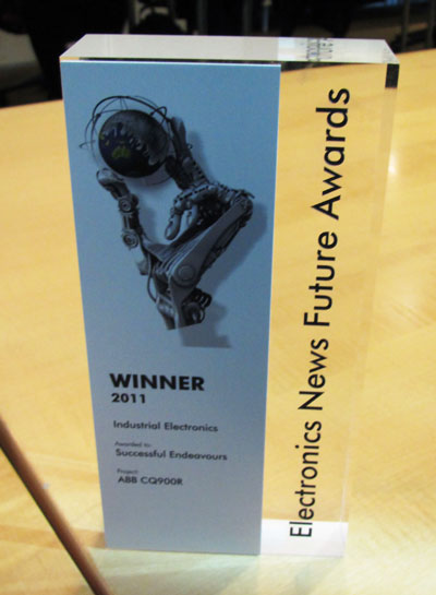 Future Awards Industrial Electronics Trophy