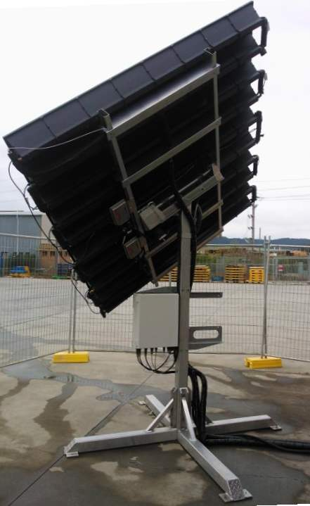 Environment Concentrated Tracking PV Solar + Hot Water