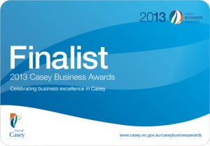 Casey Business Awards Finalist 2013