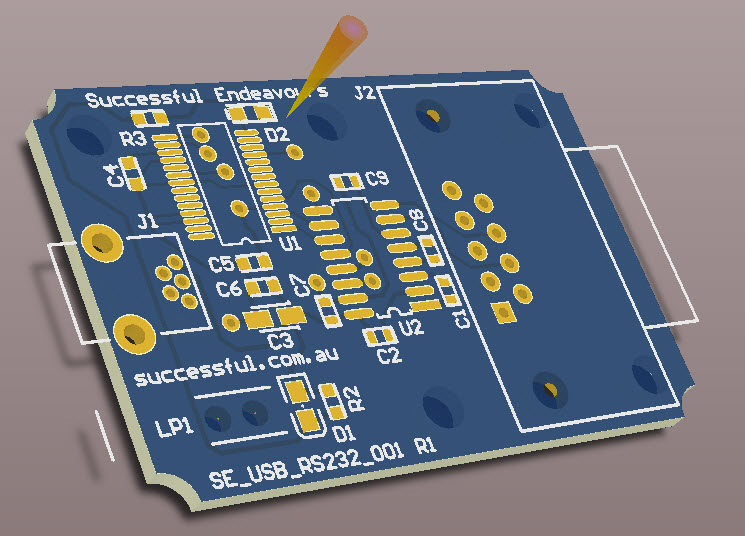3D PCB View