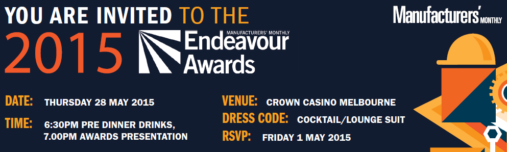 Endeavour Awards 2015 Finalist