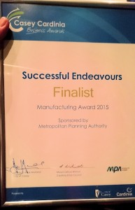 Manufacturer of the Year Finalist 2015