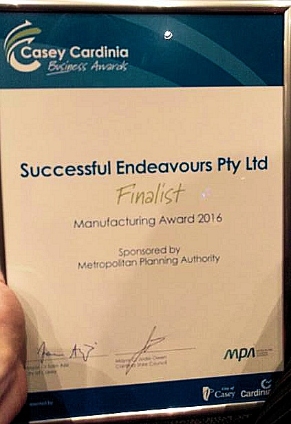 Successful Endeavours - Manufacturer of the Year finalist 2016
