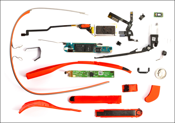 Google Glass Tear Down