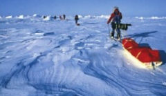 Dragging Gear Over Arctic Ice