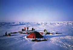 Arctic Ice Tent