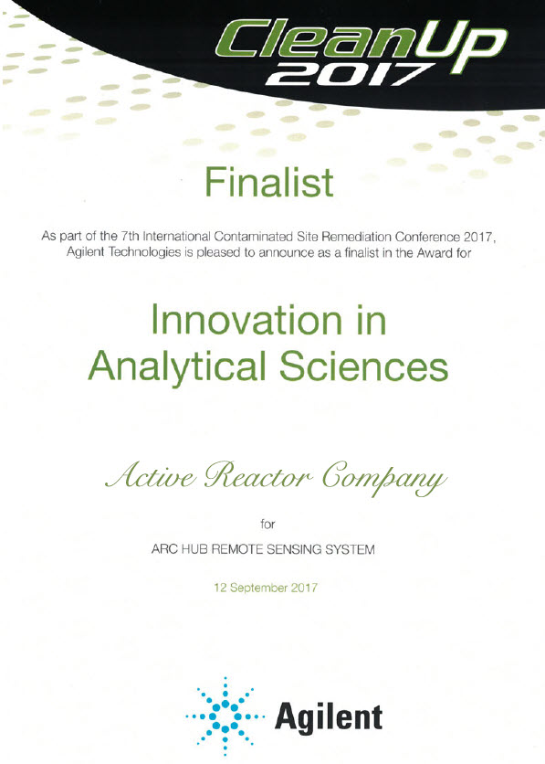 arcHUB - Agilent Award For Innovation In Analytical Science 2017 for Australia