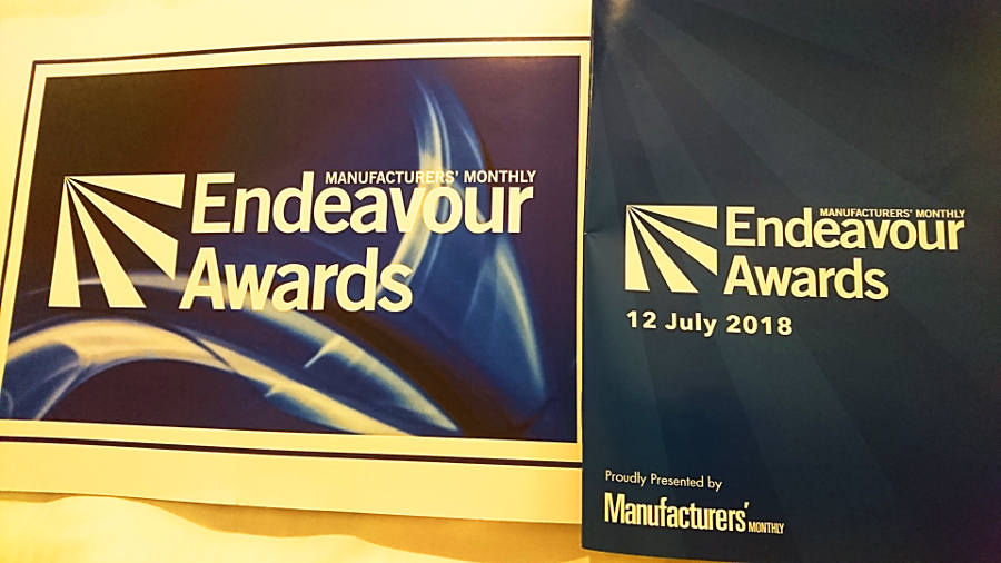Endeavour Awards 2018 booklet