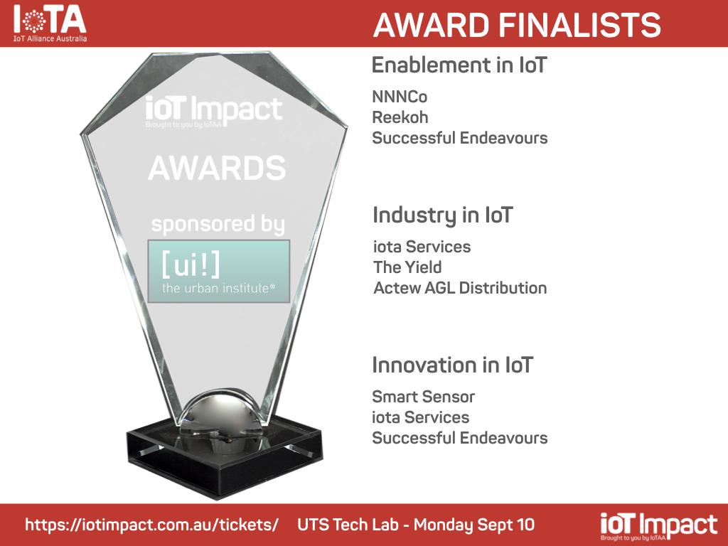 IoT Impact Award Finalists