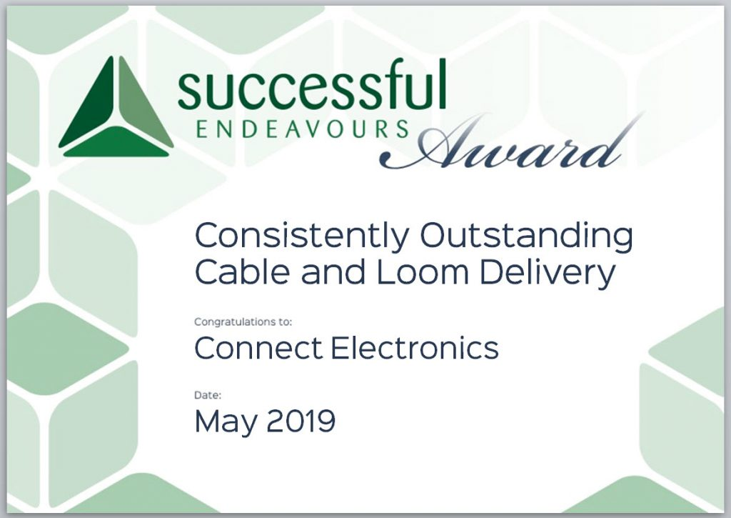 Connect Electronics Supplier Award