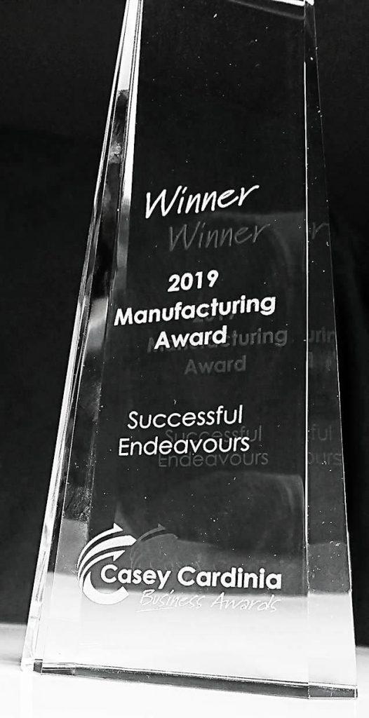 Casey Cardinia Manufacturer Award 2019