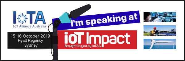 I am speaking at IoT Impact