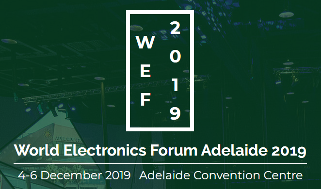 World Electronics Forum 2019