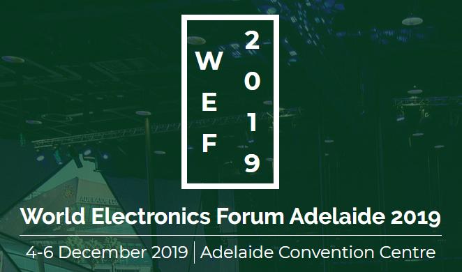 World Electronics Forum 2019